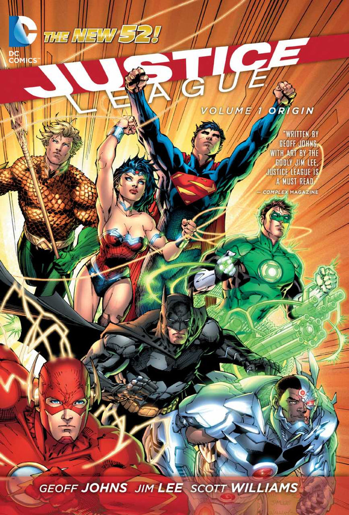 Justice League (N52) Vol 1 - Origin