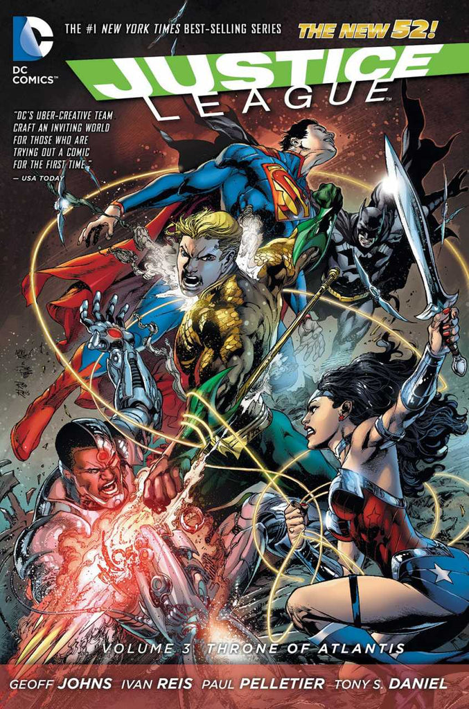 Justice League (2011) Vol 3 - Throne of Atlantis HC
