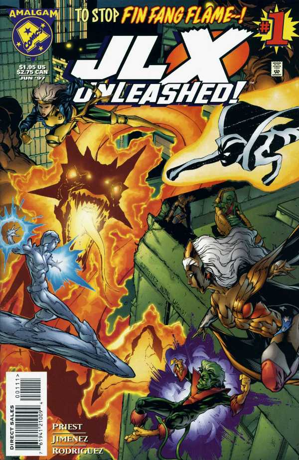 JLX Unleashed #1 - Amalgam Comics