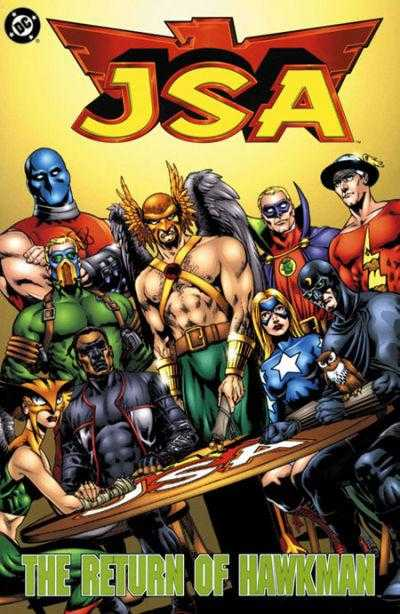 JSA: Return of Hawkman