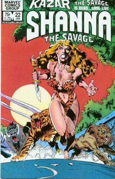 Ka-zar the Savage (1981) #22