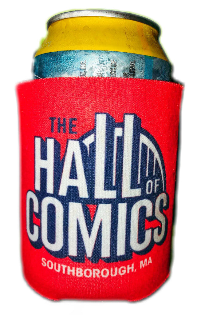 Hall of Comics Drink Koozie