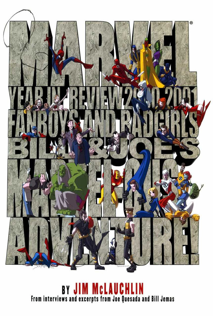 Marvel Year in Review 2000-2001
