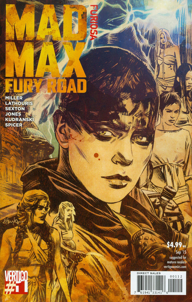 Mad Max Fury Road: Furiosa #1