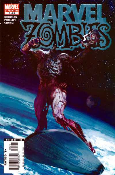 Marvel Zombies #5 - 2nd Print