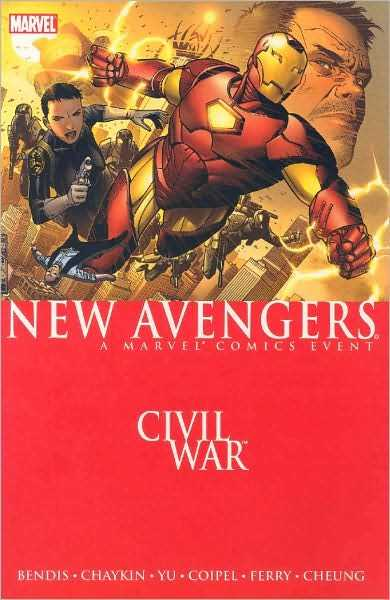 New Avengers (2007) Vol 5 - Civil War - Hardcover