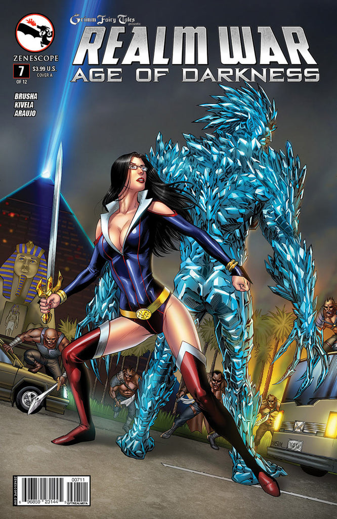 Grimm Fairy Tales: Realm War - Age of Darkness #07