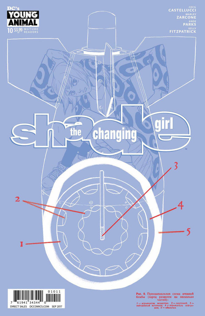 Shade, The Changing Girl #10