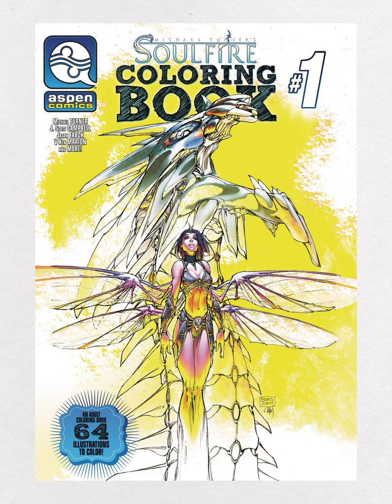 Soulfire Vol 1 Coloring Book