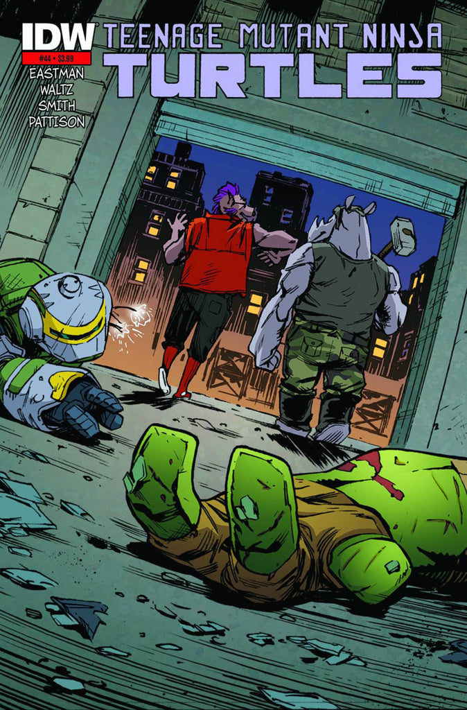 Teenage Mutant Ninja Turtles (2011) #44 - 2nd Print