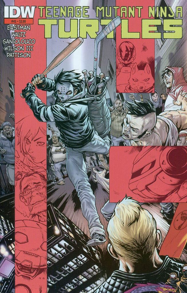 Teenage Mutant Ninja Turtles (2011) #45 - 2nd Print