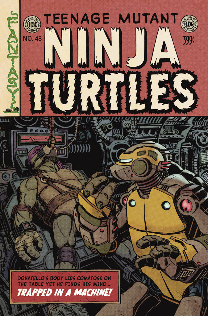 Teenage Mutant Ninja Turtles (2011) #48 - EC Variant