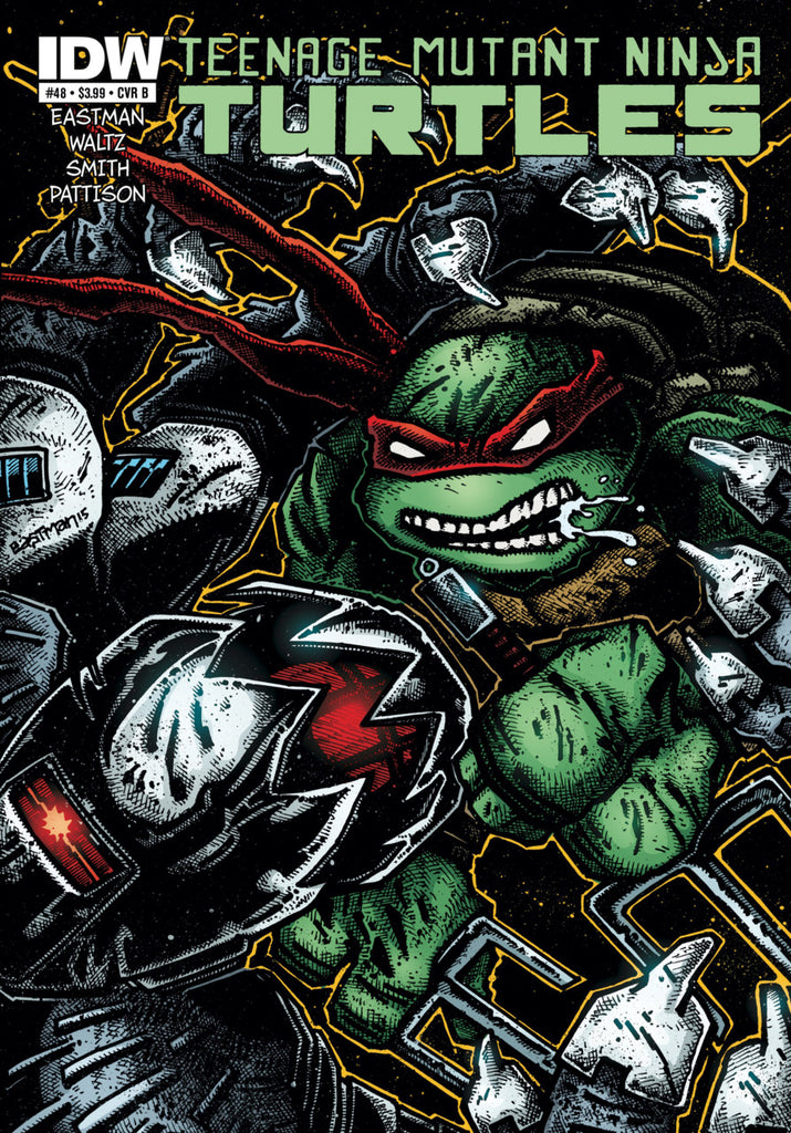 Teenage Mutant Ninja Turtles (2011) #48 - B Cover