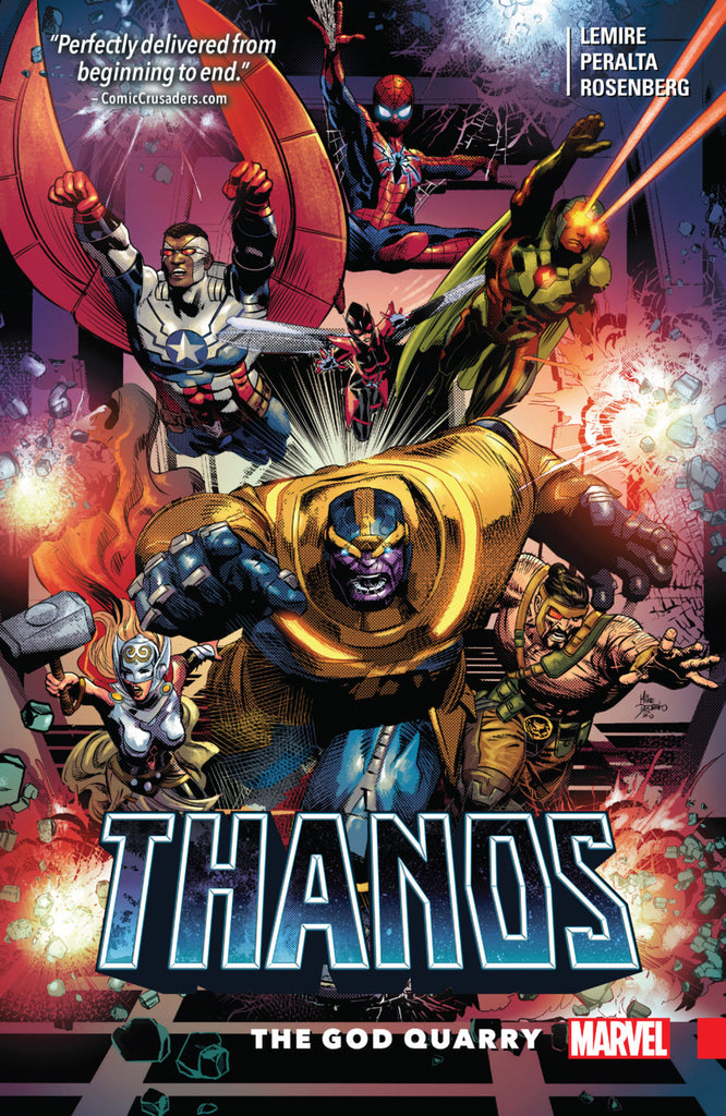 Thanos (2016) Vol 2 - God Quarry