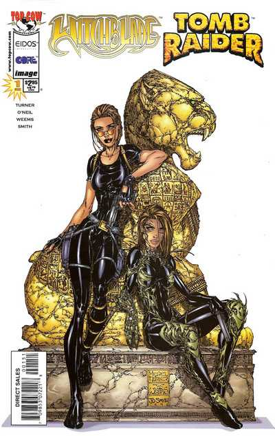 Witchblade Tomb Raider (1998) Special #1