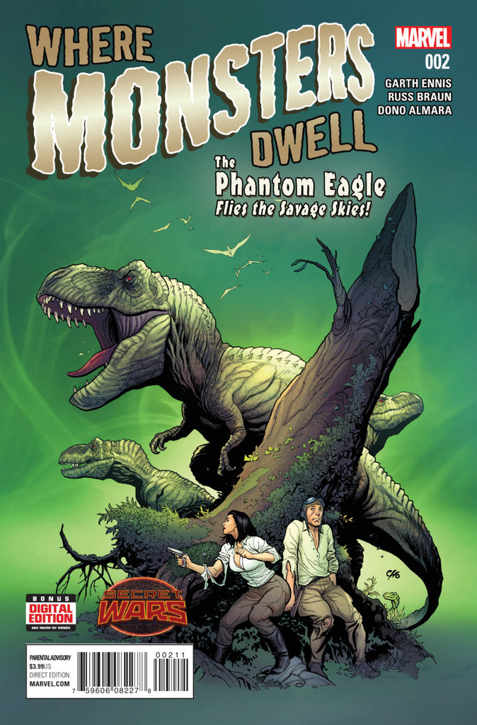 Where Monsters Dwell (2015) #2