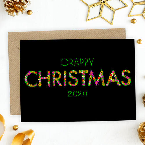 Funny Crappy Christmas 2020 Card - Cherry Pie Lane