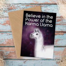 Load image into Gallery viewer, Karma Llama Funny Card