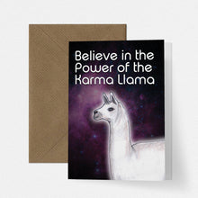 Load image into Gallery viewer, Karma Llama Funny Card - Cherry Pie Lane