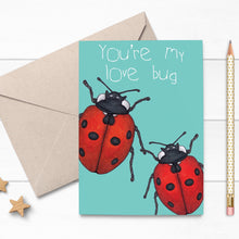 Load image into Gallery viewer, Ladybird Love Card - Cherry Pie Lane