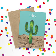 Load image into Gallery viewer, Rude Cactus Prick Card - Cherry Pie Lane
