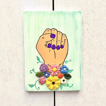 Load image into Gallery viewer, Women's Equality Power Fist Art - Cherry Pie Lane