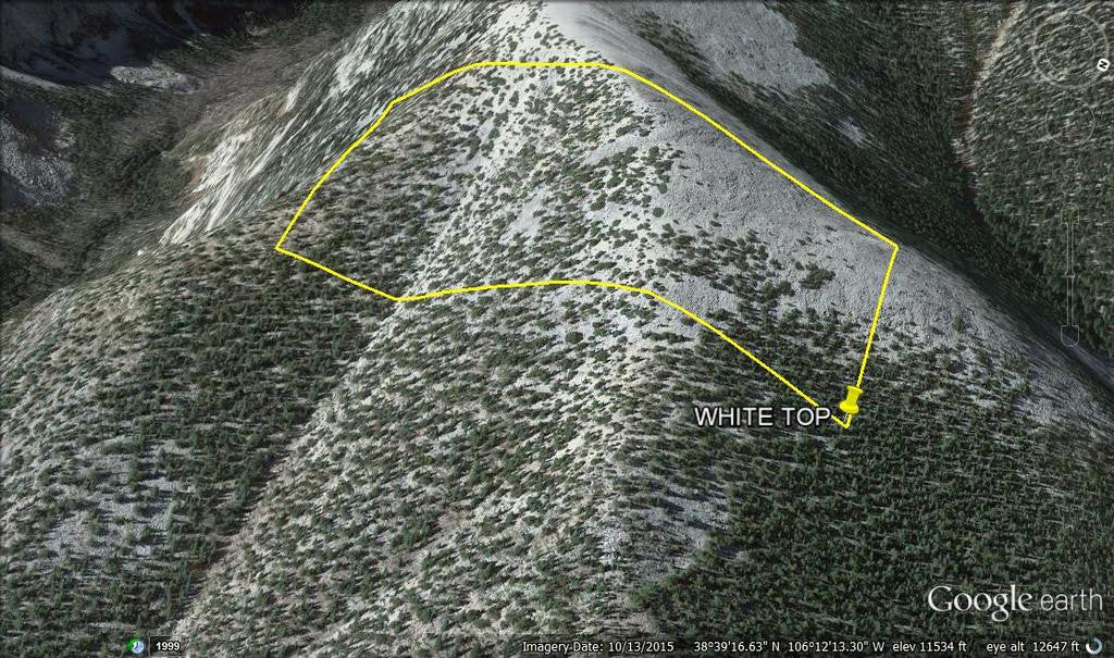 KONTES Lode Mining Claim, Mount White, Chaffee County, Colorado