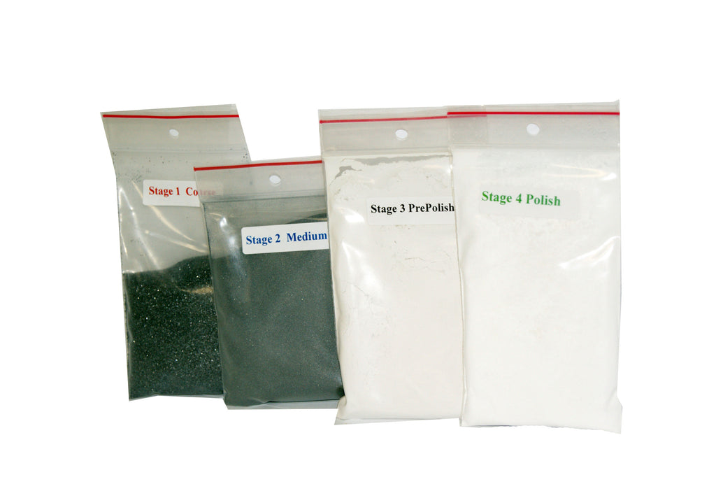 4 STAGE GRIT PACK FOR 3lb. TUMBLER