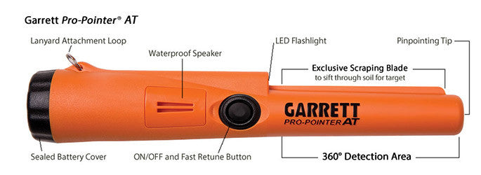 Waterproof Garrett Pro-Pointer