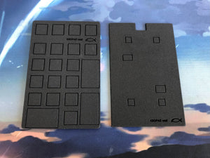 KBDPAD mkii case and plate foam set