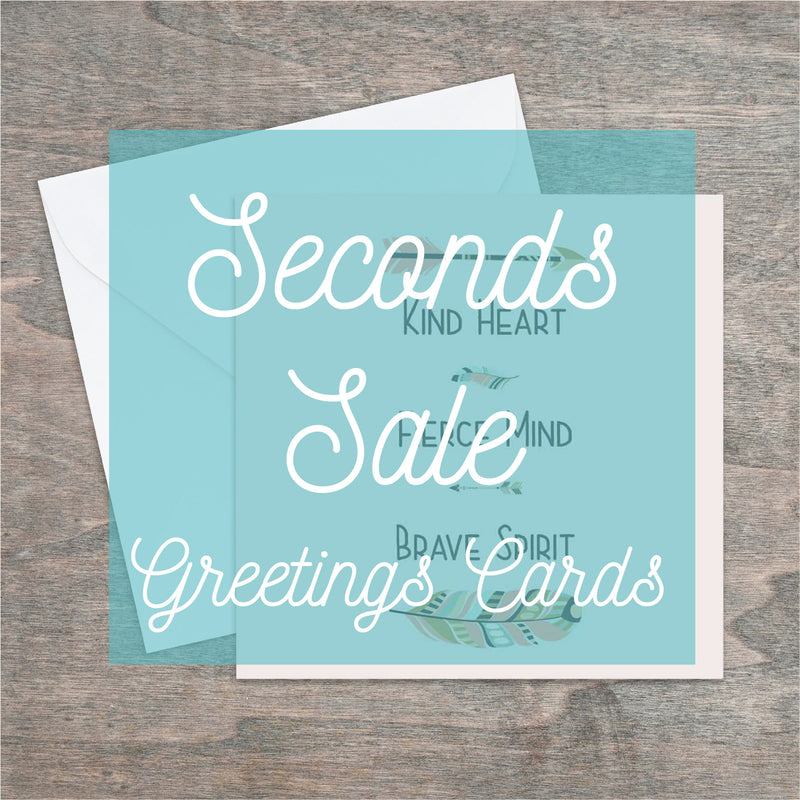 Mystery mix of seconds printed greetings cards - Haveago Crafter