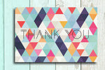 I believe in you unicorn, Never half-ass and Thank you geometric postcards - Haveago Crafter