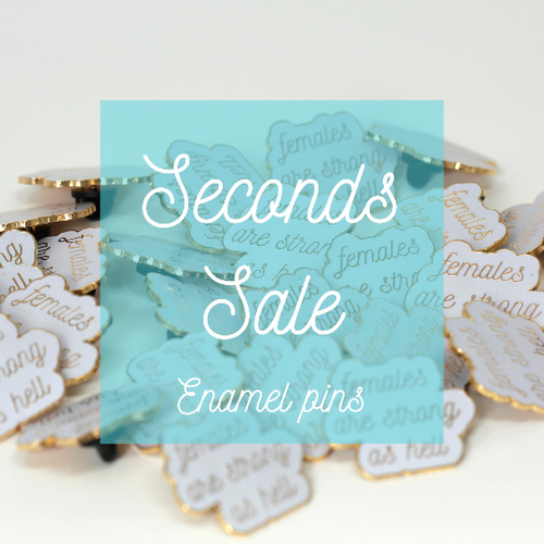 Seconds sale enamel pins - Haveago Crafter