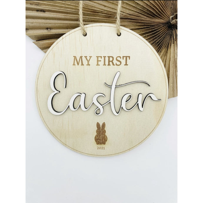 Gray Timber Tinkers - My First Easter Sign