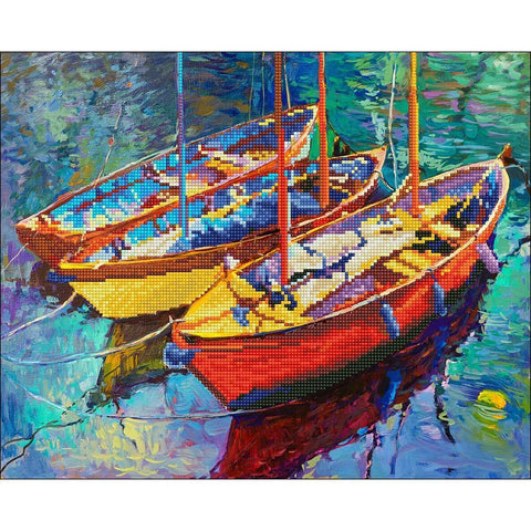Diamond Art Kit - Boats