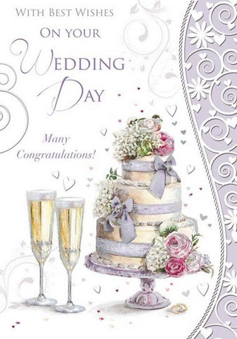 With Best Wishes On Your Wedding Day