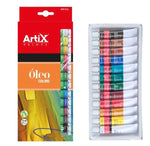 Artix Oil Paints - 12pcs