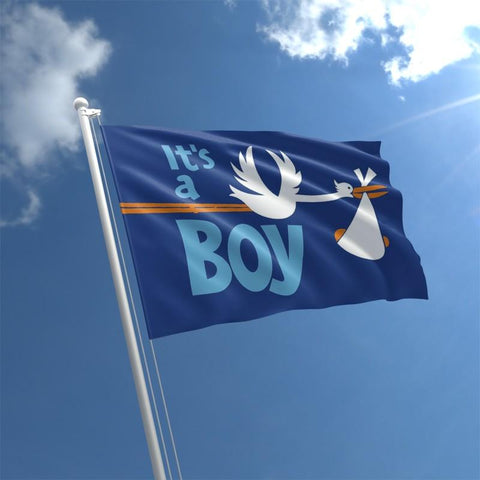 5ft by 3ft It's a Boy Flag