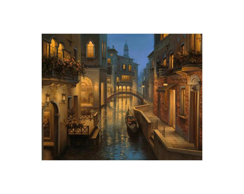 DIAMOND ART KIT - Warm evening in Venice
