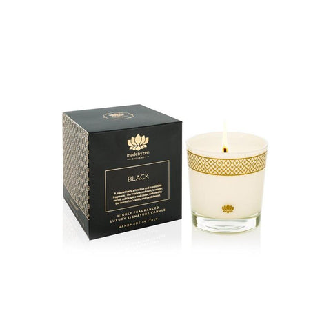 Black - Luxury Scented Candle