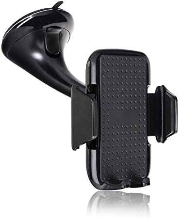 Xqisit Car Holder for Smart Phone - Black