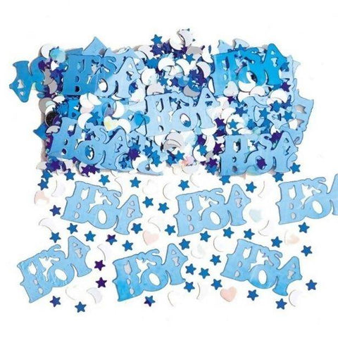 It's A Boy Blue Table Confetti