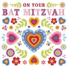 On Your Bat Mitzvah Card