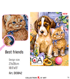 DIAMOND ART KIT - BEST FREINDS