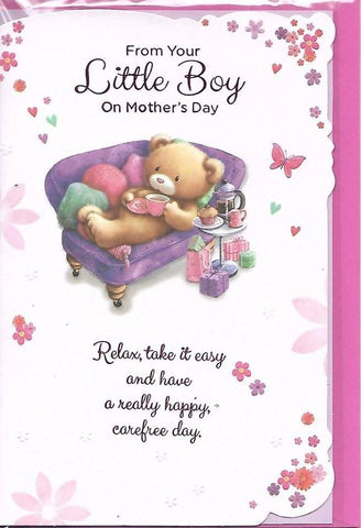 Mothers Day Card-From Your Little Boy