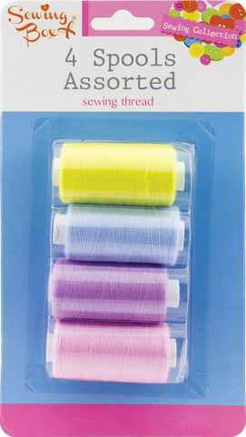 Sewing thread - assorted colours