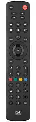 One For All Contour 4 Remote Control