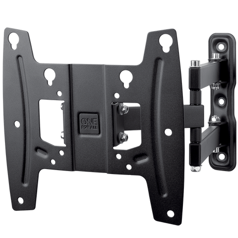 "ONE FOR ALL Full-motion TV Wall Mount 19"" to 43"""