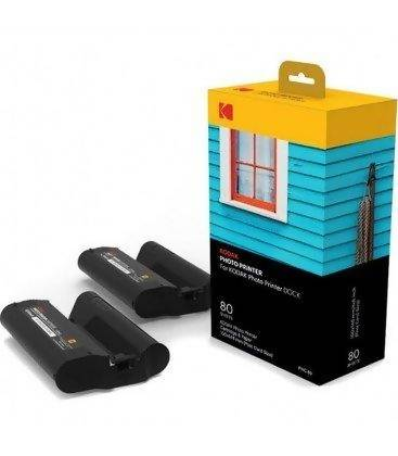 KODAK CARTRIDGE AND PAPER FOR KODAK PHOTO PRINTER DOCK