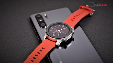 AMAZFIT GTR SMART WATCH-CORAL RED